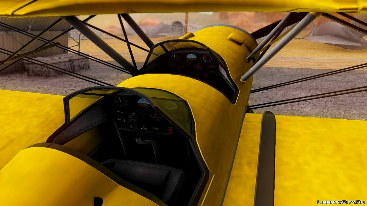 Planes and helicopters GTA 5 - Duster for GTA San Andreas