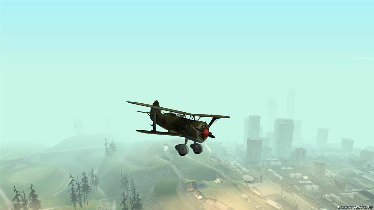 Planes and helicopters I-15 bis for GTA San Andreas