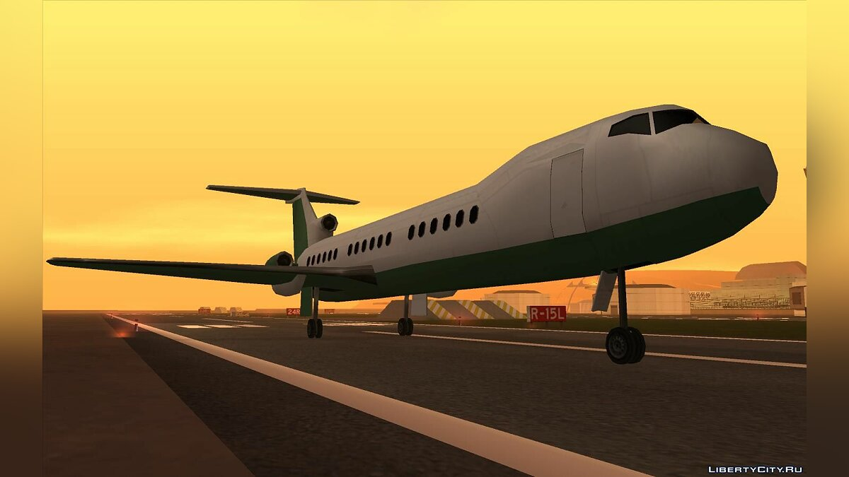 Planes and helicopters Stories Airtrain Pack for GTA San Andreas