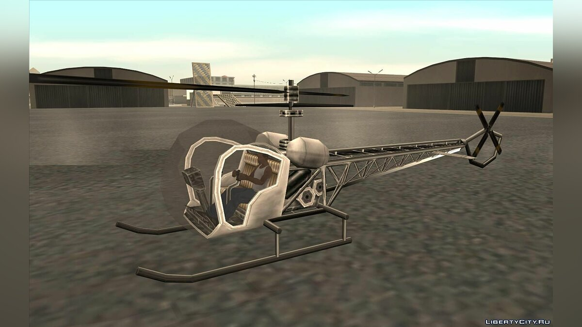 Planes and helicopters GTA VC Sparrow for GTA San Andreas