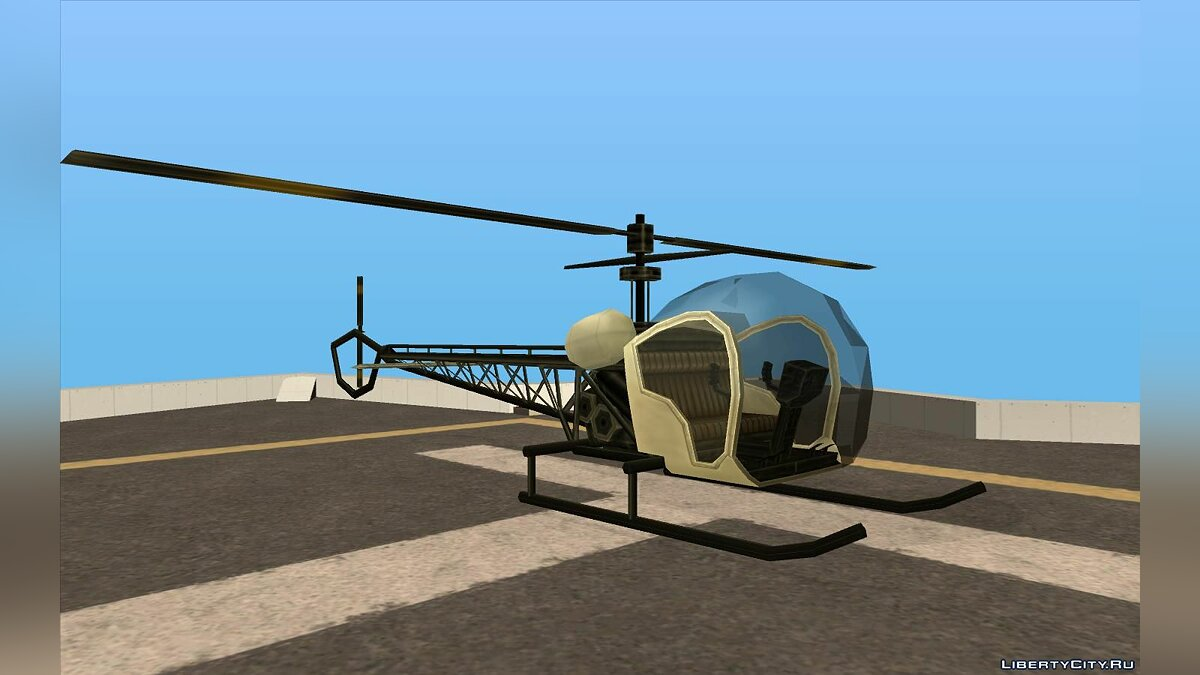 Planes and helicopters Sparrow's from GTA VC for GTA San Andreas