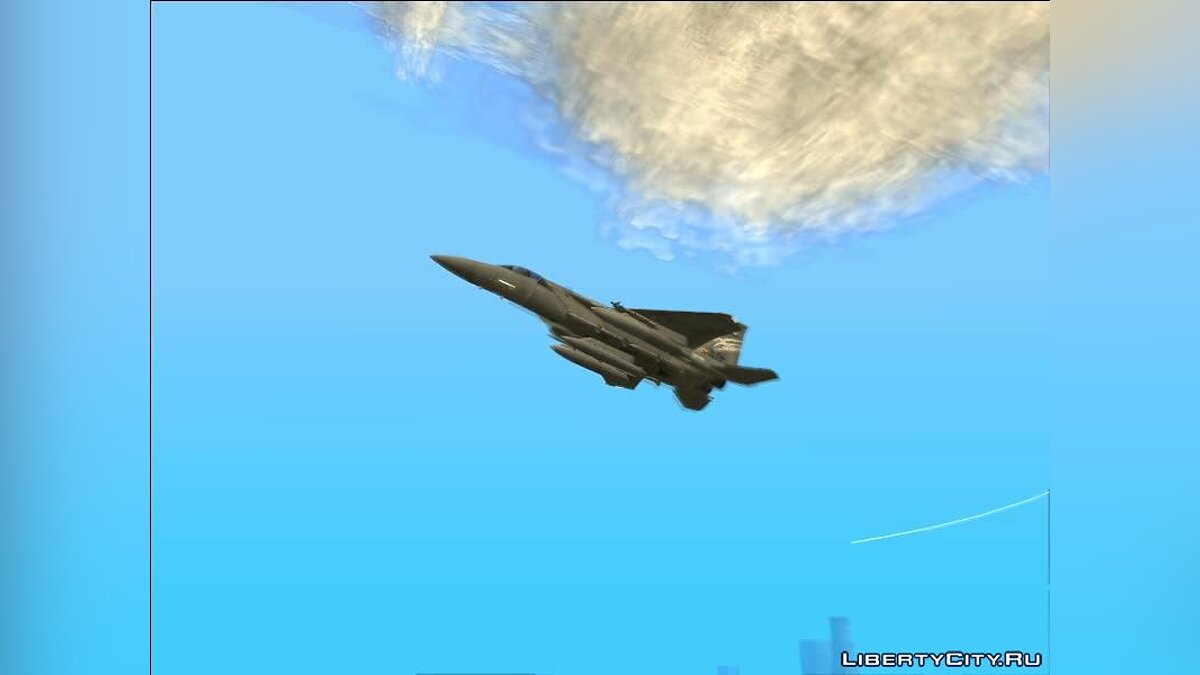 Planes and helicopters F-15C Trigger (Strider 1) for GTA San Andreas