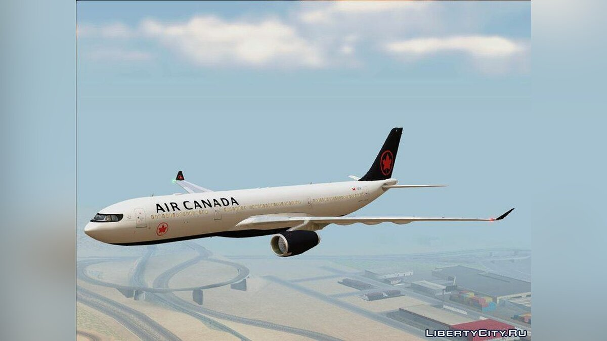 Planes and helicopters Airbus A330-300 RR Trent 700 for GTA San Andreas