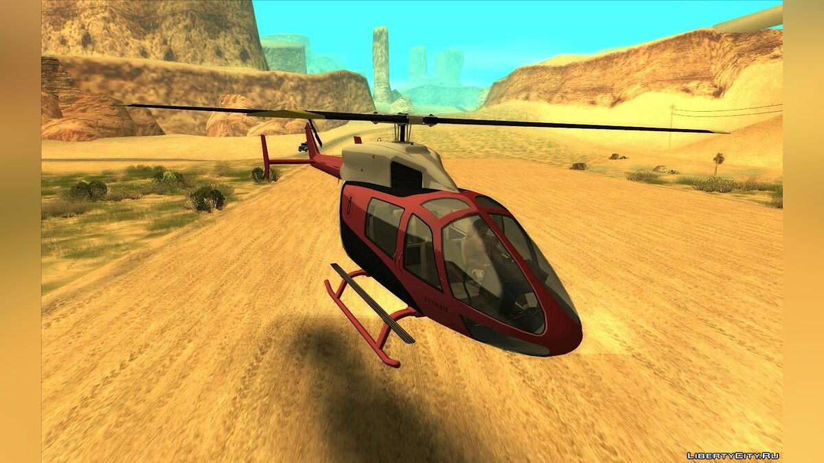 Planes and helicopters GTA 5: Buckingham Supervolito for GTA San Andreas