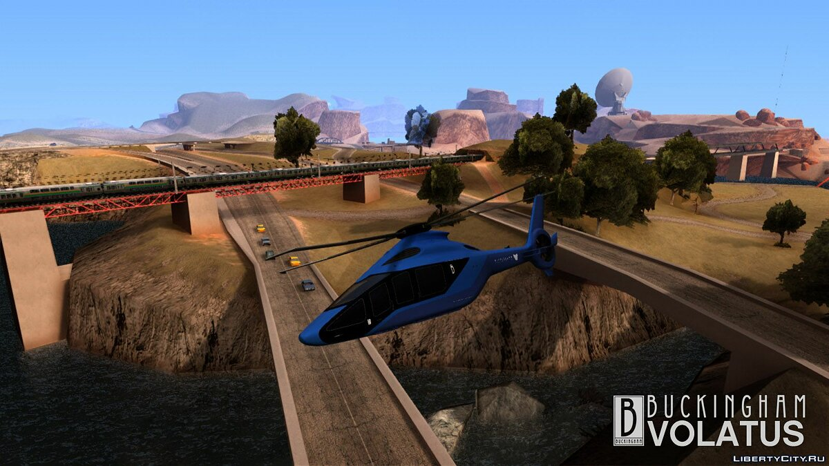 Planes and helicopters GTA V Buckingham Volatus for GTA San Andreas