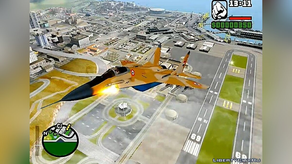 Planes and helicopters MiG-39 Egyptian Air Force for GTA San Andreas