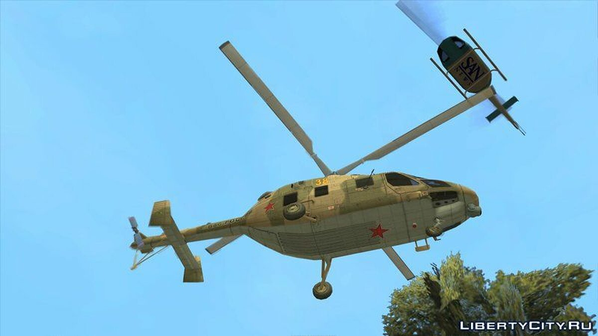 Planes and helicopters KVZ Ansat for GTA San Andreas