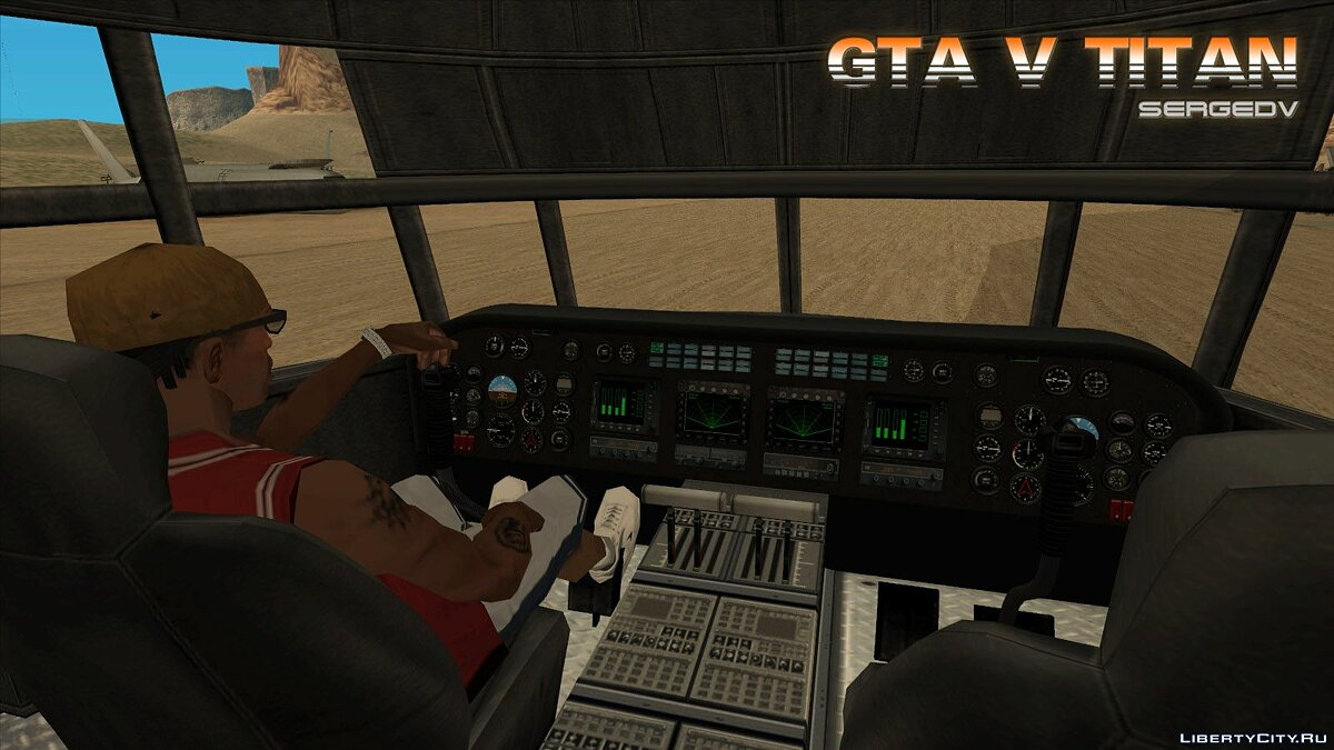 Planes and helicopters GTA V Titan for GTA San Andreas