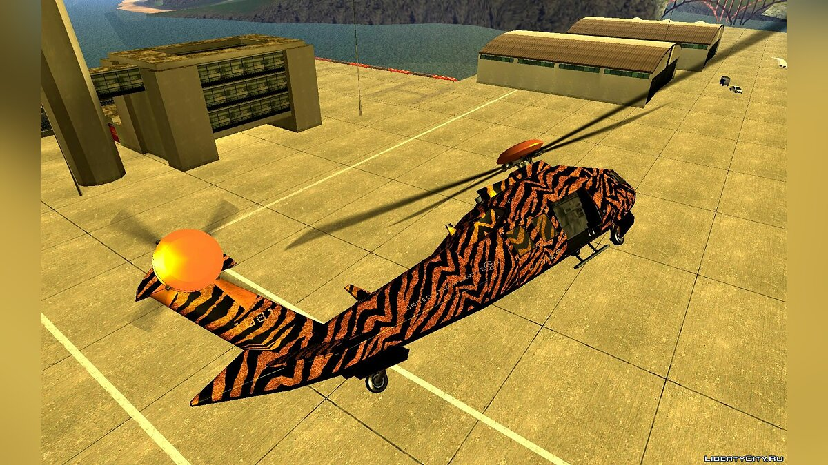 Planes and helicopters GTA 5 Western Annihilator Stealth for GTA San Andreas