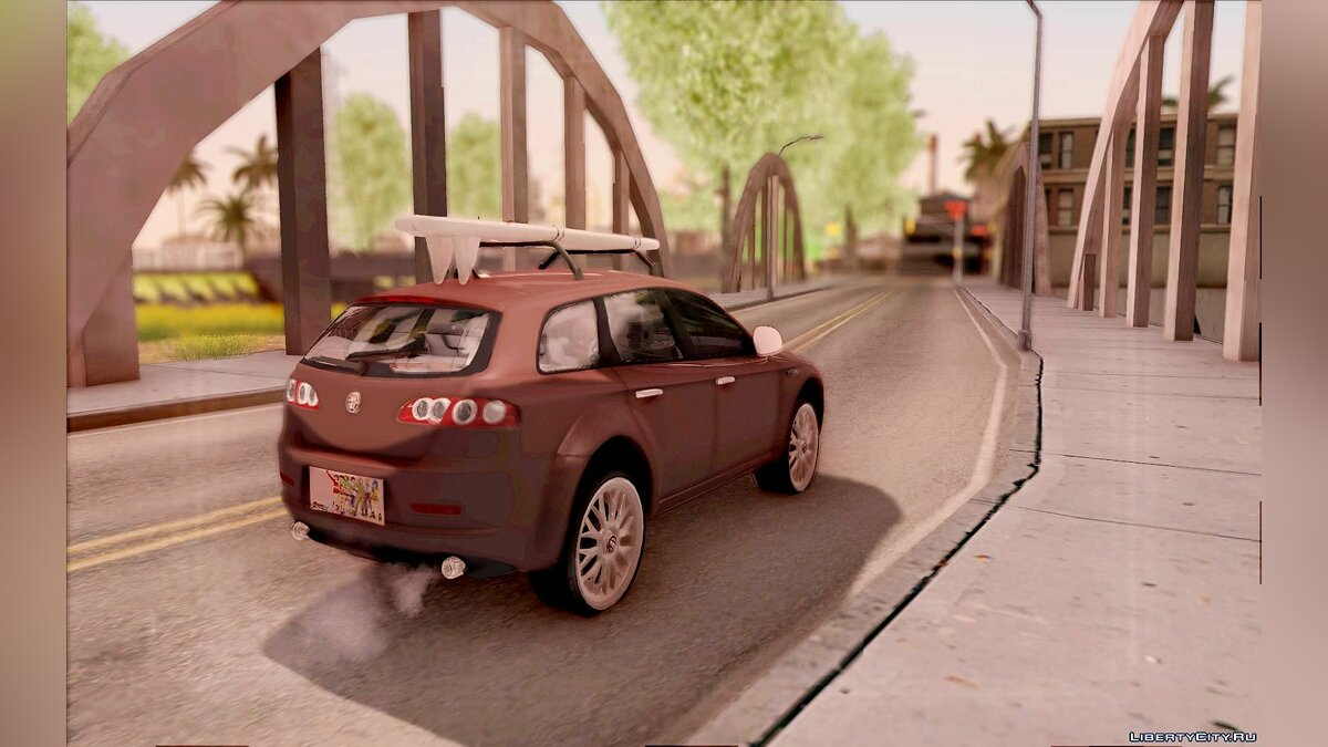Alfa Romeo car Alfa Romeo 159 Sportwagon for GTA San Andreas