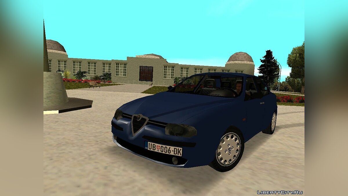 Alfa Romeo car Alfa Romeo 156 for GTA San Andreas