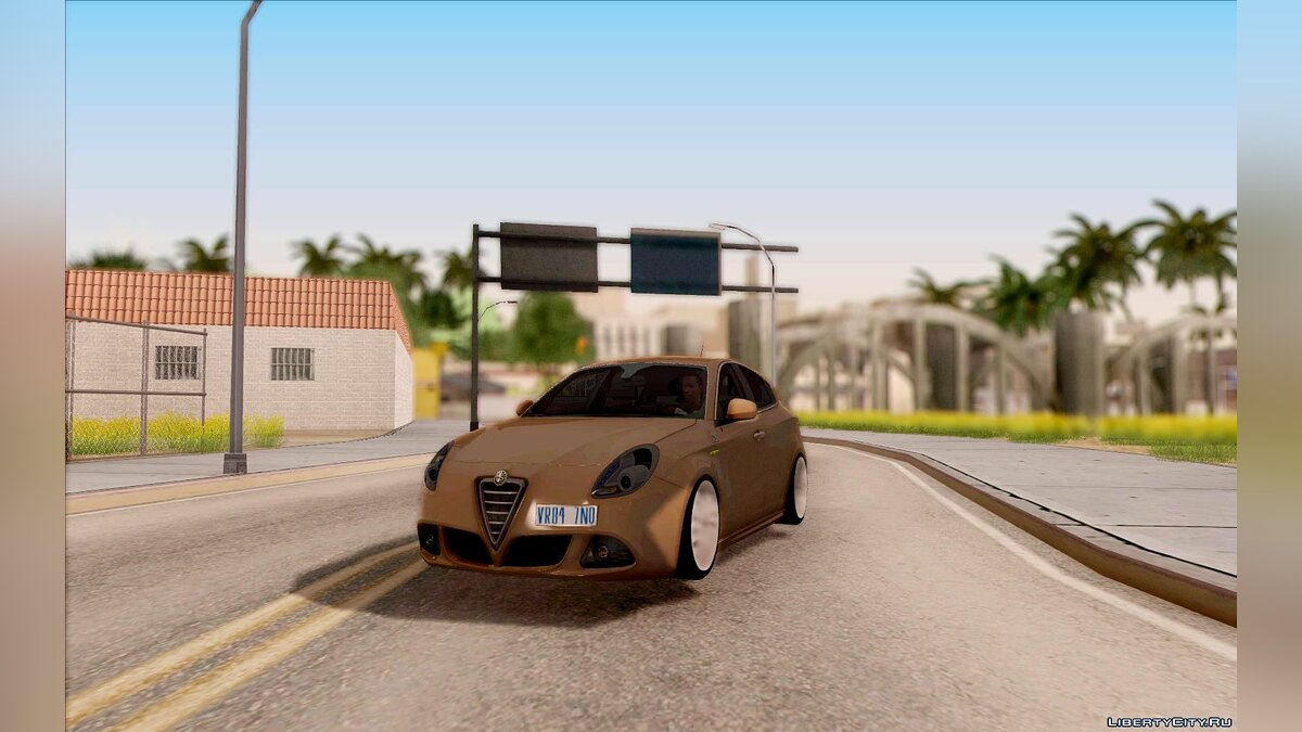 Alfa Romeo car Alfa Romeo Giulietta - Stock 2011 for GTA San Andreas