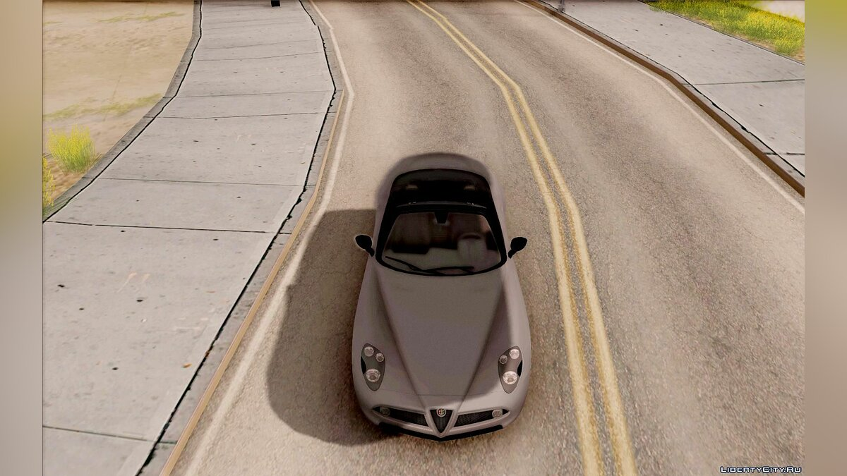 Alfa Romeo car Alfa Romeo 8C Spider for GTA San Andreas