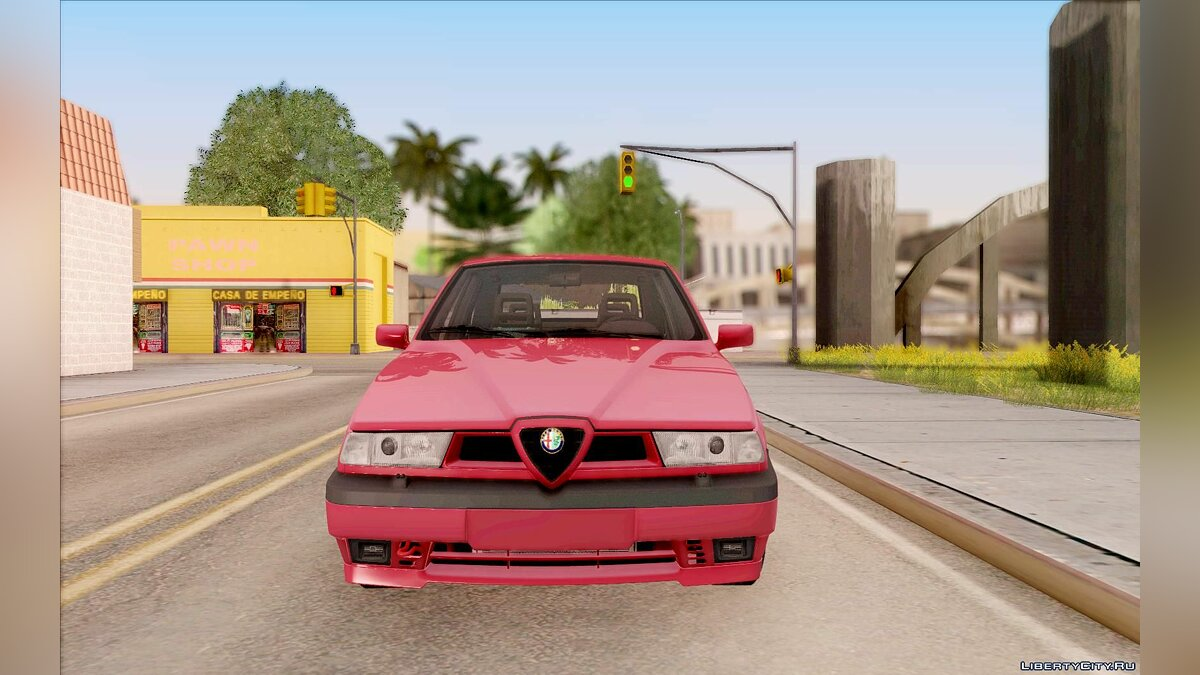 Alfa Romeo car Alfa Romeo 155 Q4 1992 for GTA San Andreas