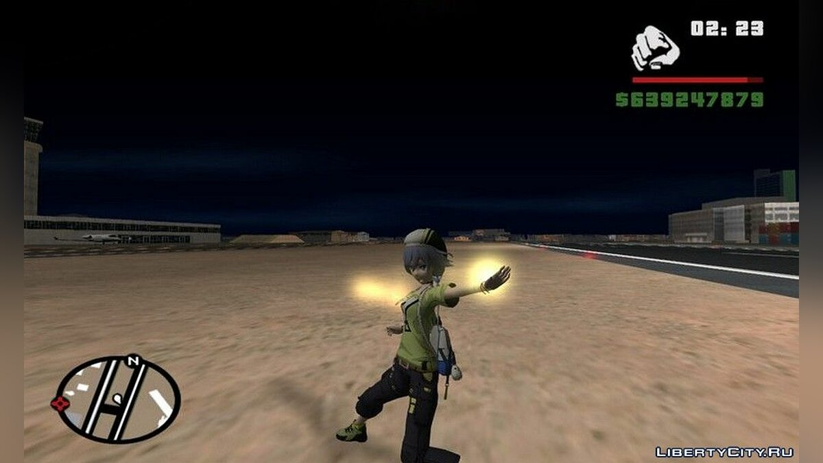 Animation mod New combat system Fu Hua for GTA San Andreas
