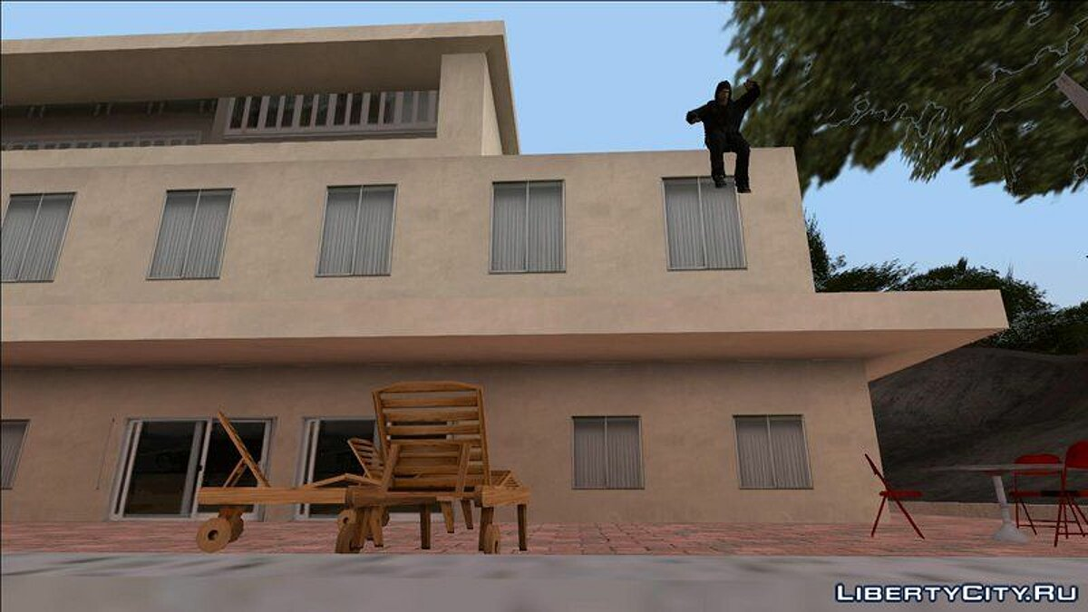 Animation mod Natural Parkour Animation Pack + Realistic Wallrun And Roll for GTA San Andreas
