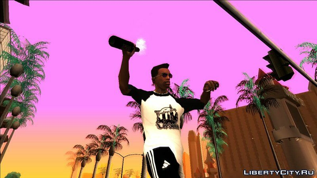 Animation mod Stylish animations for GTA San Andreas