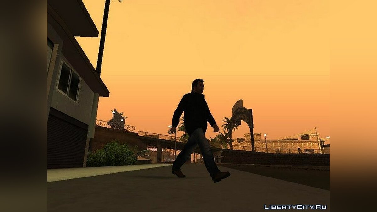 Animation mod Motion Animation from GTA 4 for GTA San Andreas