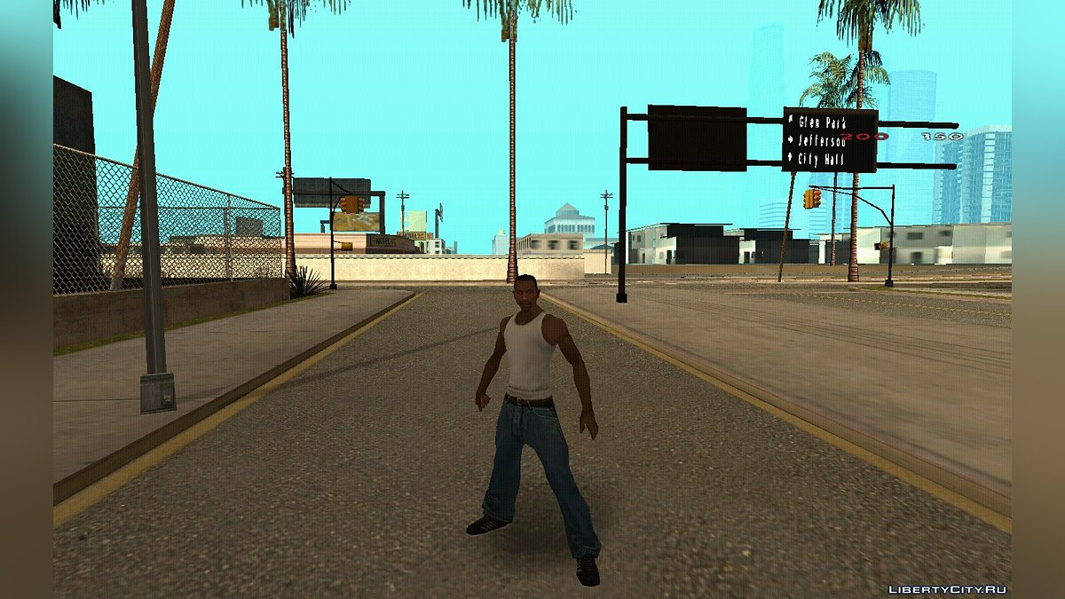 Animation mod Fast Animation for GTA San Andreas