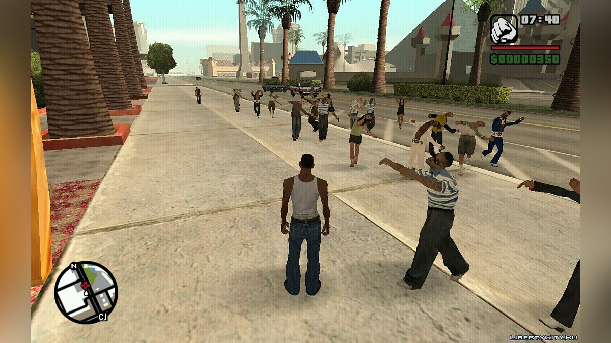 Animation mod Infected Animation mod for GTA San Andreas
