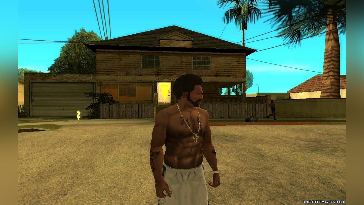 Animation mod New animations during inactivity from GTA LCS for GTA San Andreas