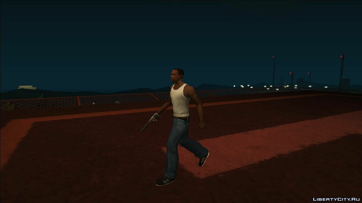 Animation mod Cipriani's walkstyle for GTA San Andreas