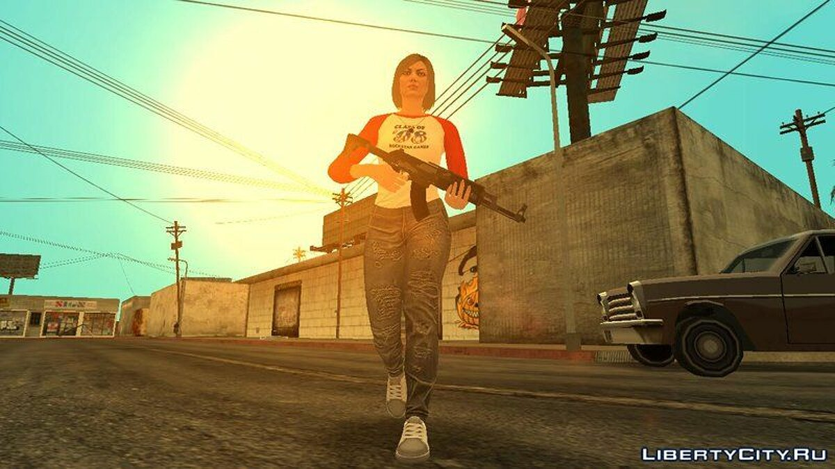 Animation mod The final version of the original animations of GTA 5 Online for GTA SA for GTA San Andreas