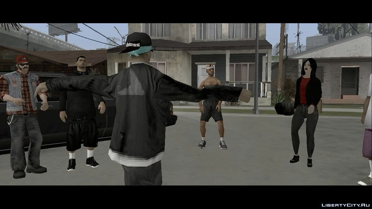 Animation mod Anim dance for GTA San Andreas