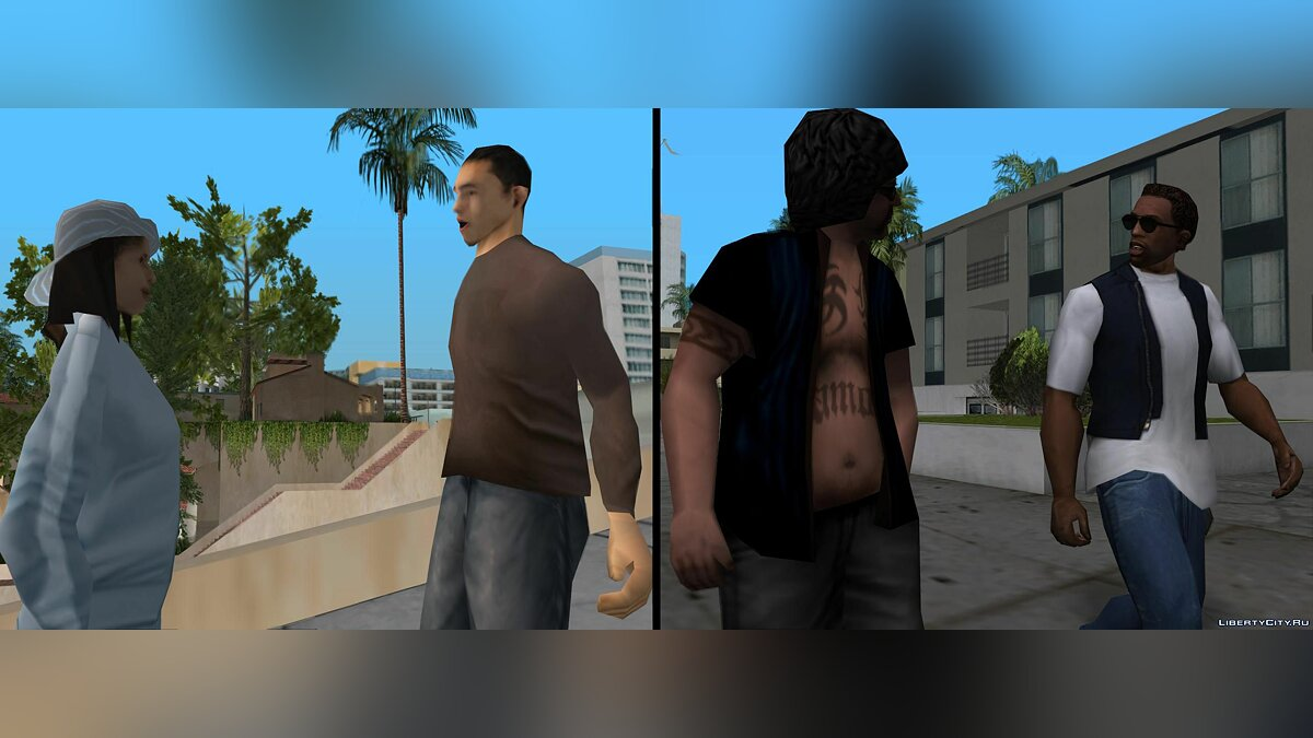 Animation mod Animation Fix 1.5 for GTA San Andreas