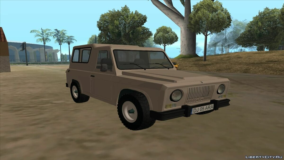 Aro car Aro 243D 1975 for GTA San Andreas