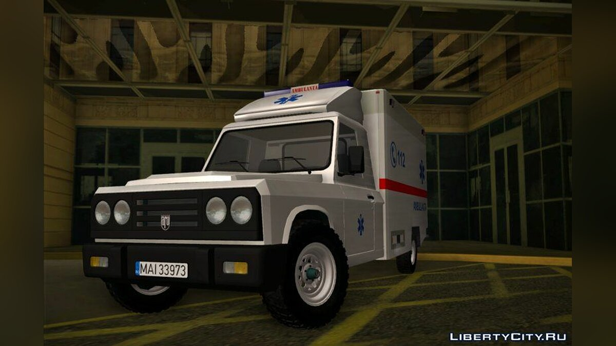 Aro car 1996 ARO 242 - Ambulanta (Ambulance) for GTA San Andreas