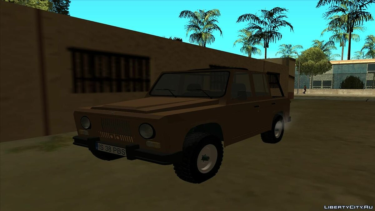 Aro car Aro 241D - 1975 for GTA San Andreas