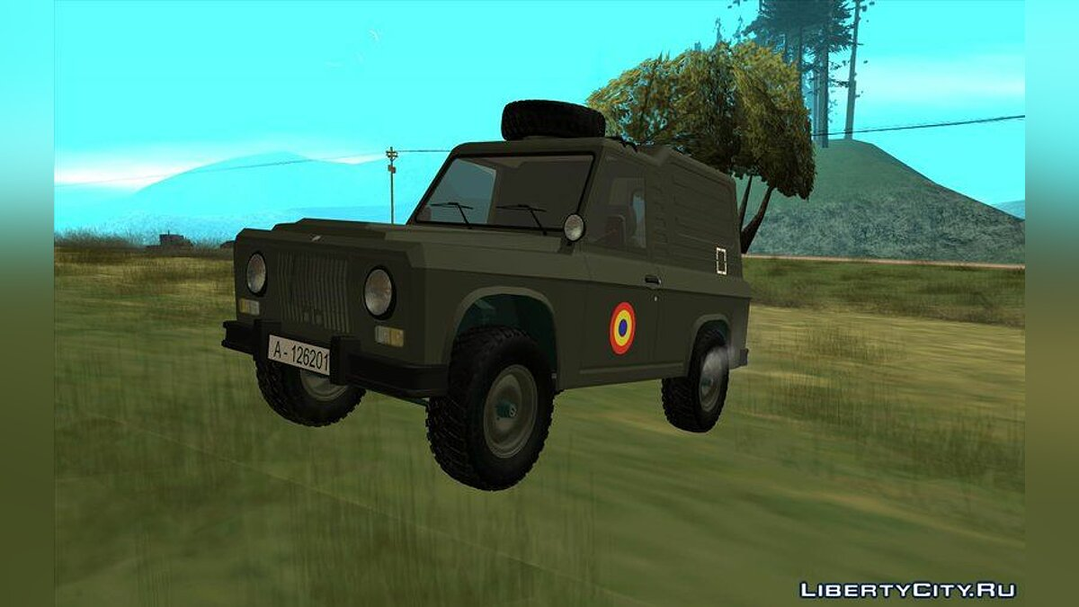 Aro car Aro 243D - 1975 Militar for GTA San Andreas