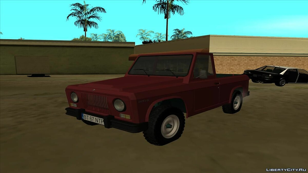 Aro car Aro 240D - 1972 for GTA San Andreas