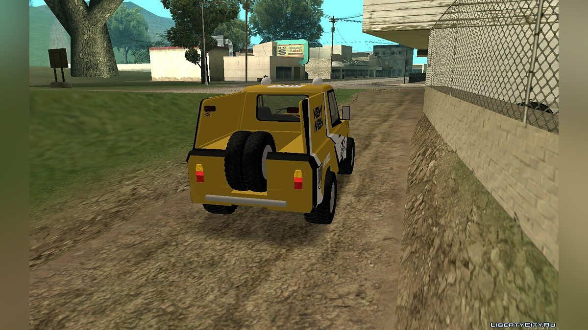 Aro car Aro 242 - Dakar (1985) for GTA San Andreas
