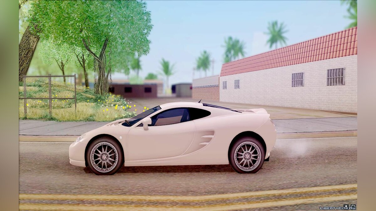 Ascari car 2003 Ascari KZ1 for GTA San Andreas