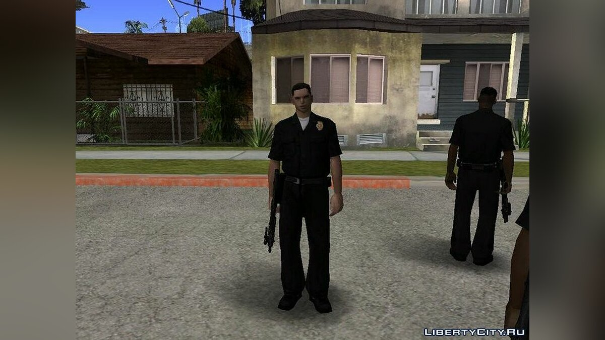 Different cops for GTA San Andreas