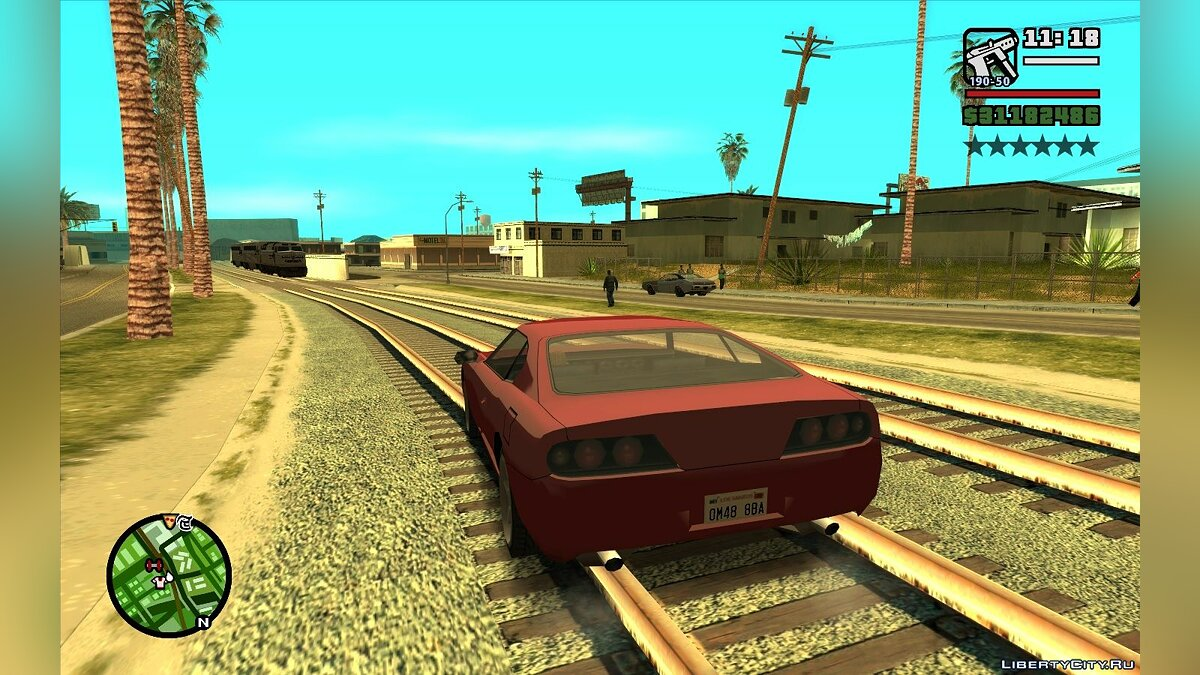 Always show wanted stars for GTA San Andreas