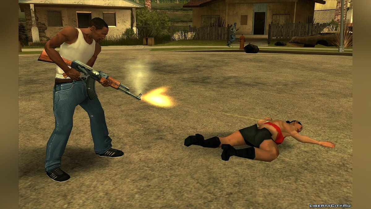 Limit violence and sexual content for GTA San Andreas