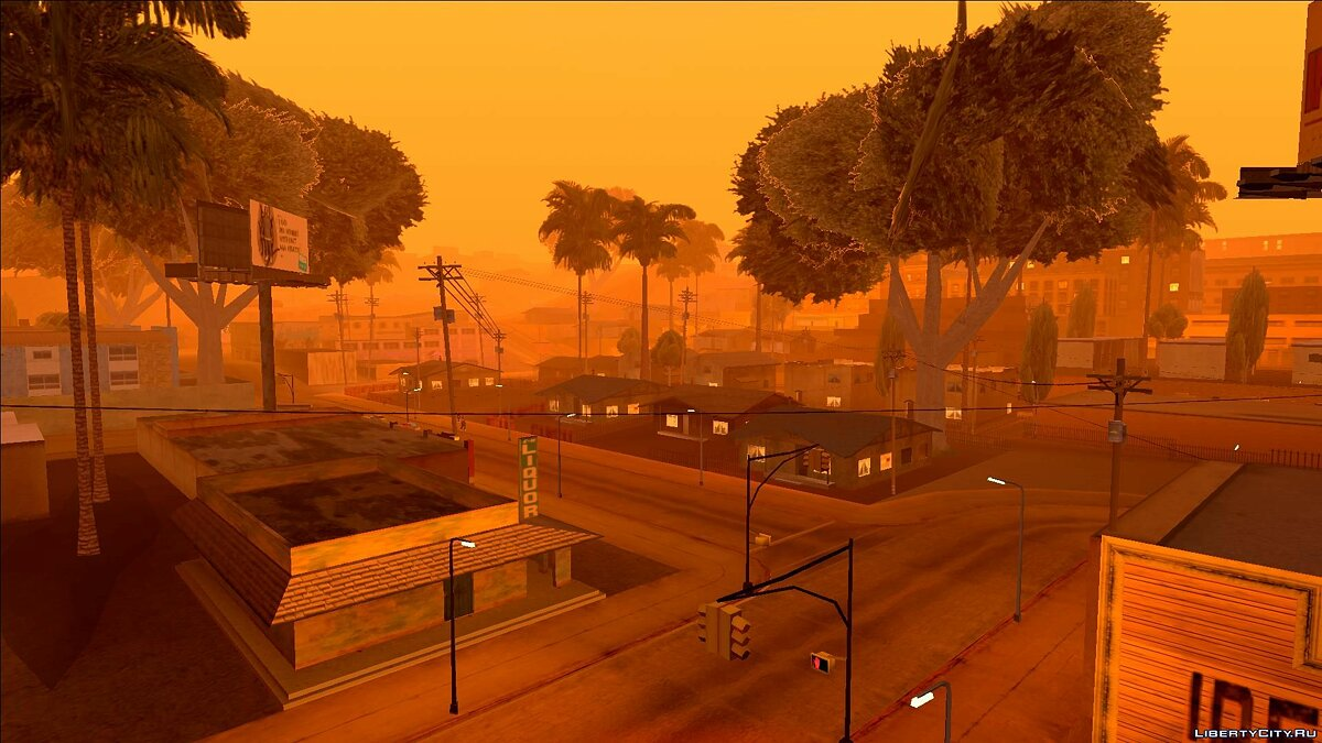 Atmosphere Colormod & Timecyc for GTA San Andreas