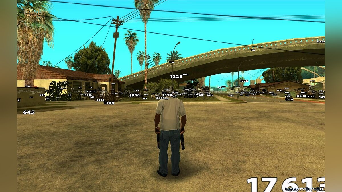 Viewing Model Information (Object ID) for GTA San Andreas