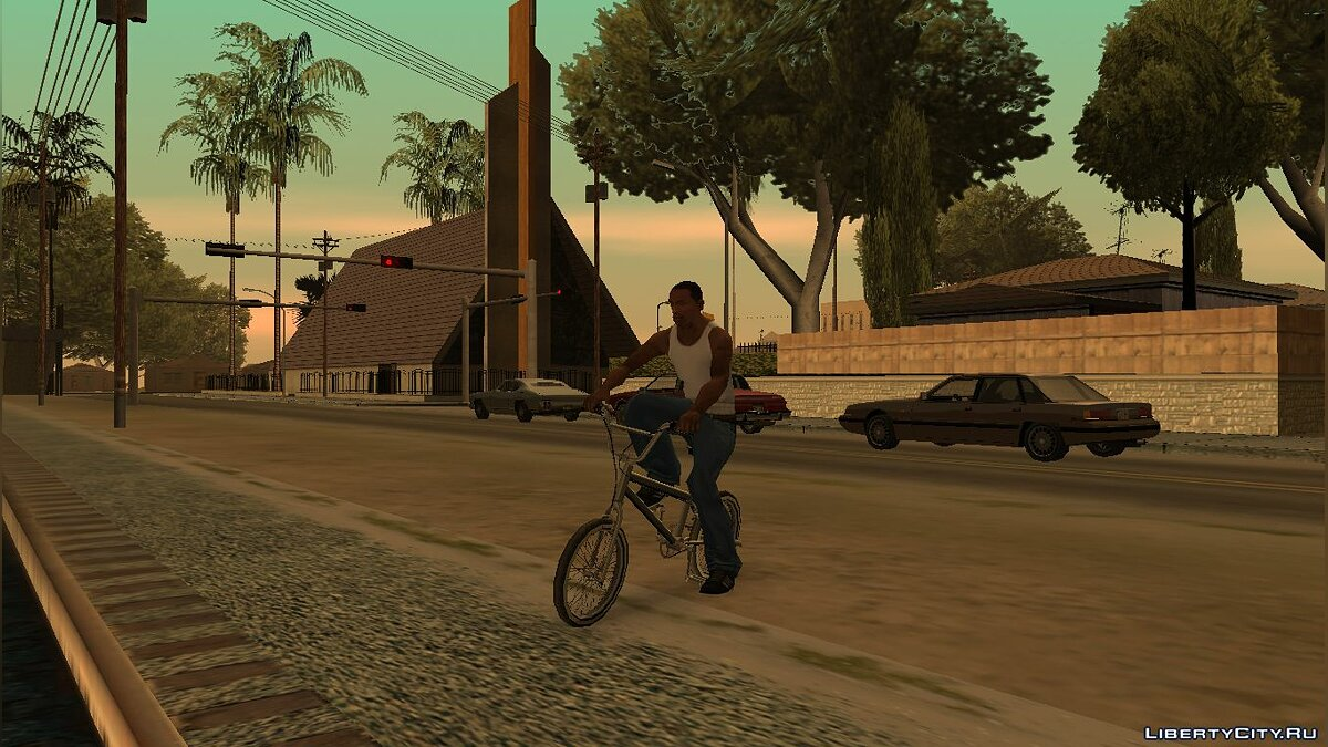 SkyGFX 4.0 for Weak PCs for GTA San Andreas