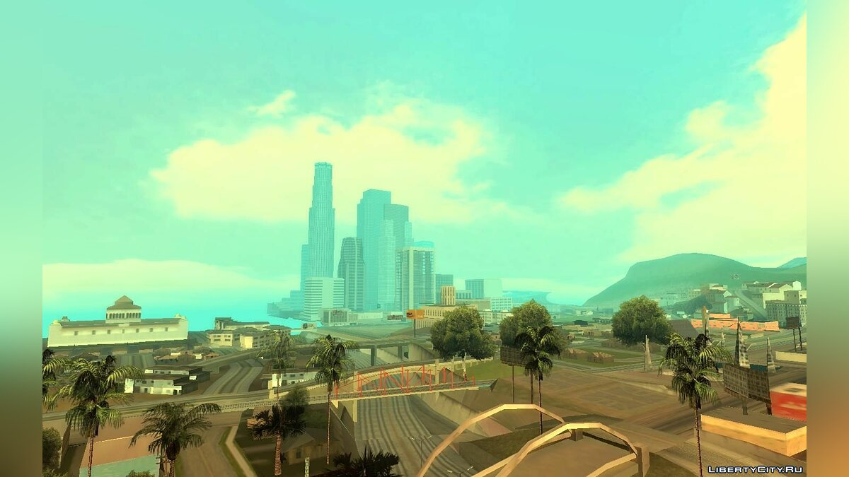 Realistic Clouds (Beautiful Sky) for GTA San Andreas