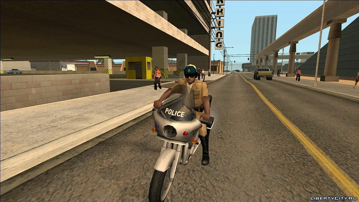 Recovering unused pedestrians and police for GTA San Andreas