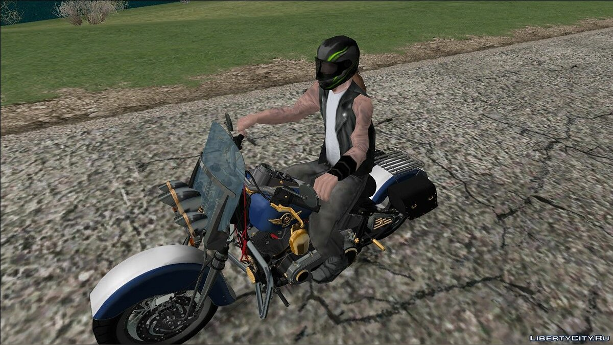 Helmet Mod beta 2 for GTA San Andreas