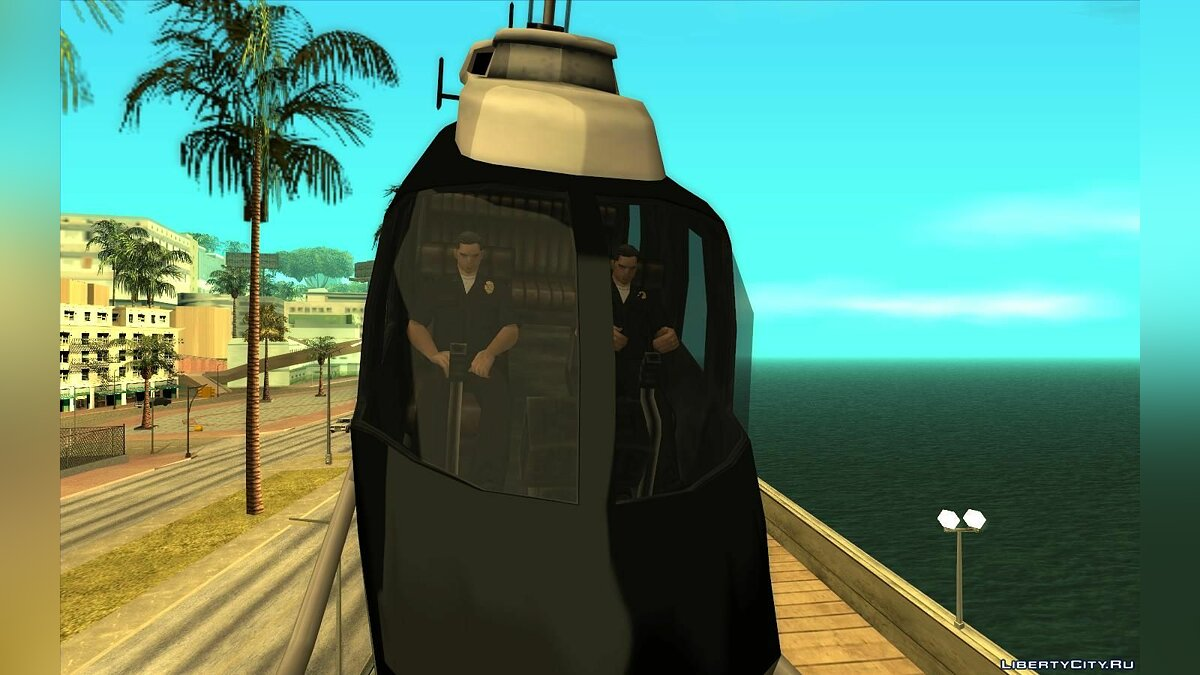 HeliFix - helicopter pilots for GTA San Andreas