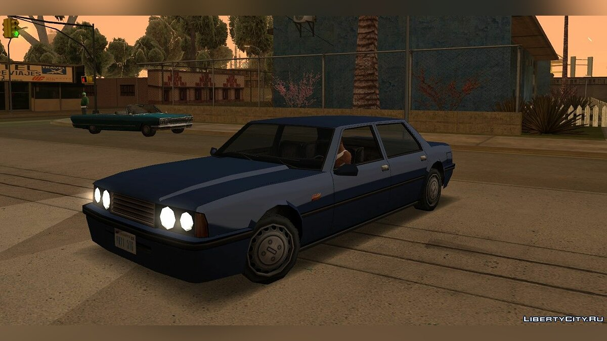 Mod PS2 Reflections for GTA San Andreas