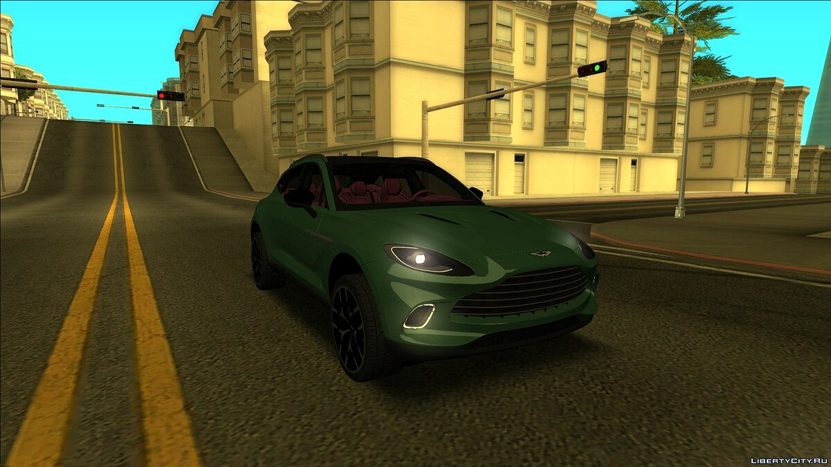 Aston Martin car 2019 Aston Martin DBX for GTA San Andreas