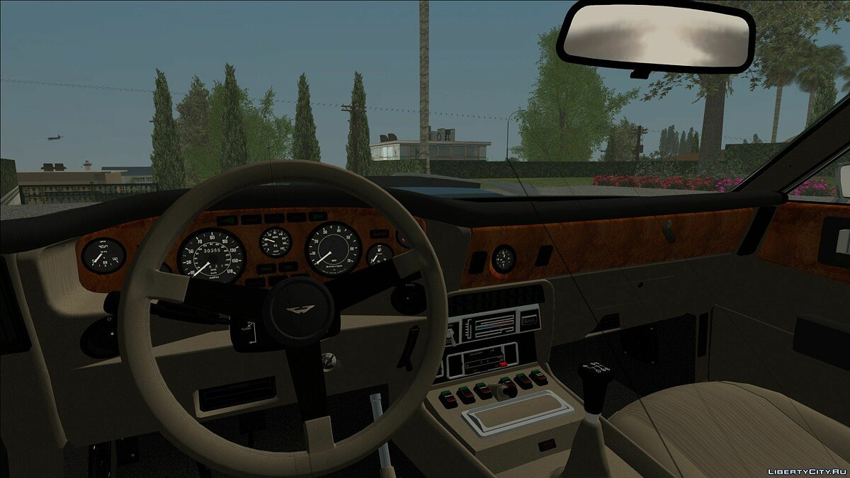 Aston Martin car Aston Martin V8 Vantage 1997 for GTA San Andreas