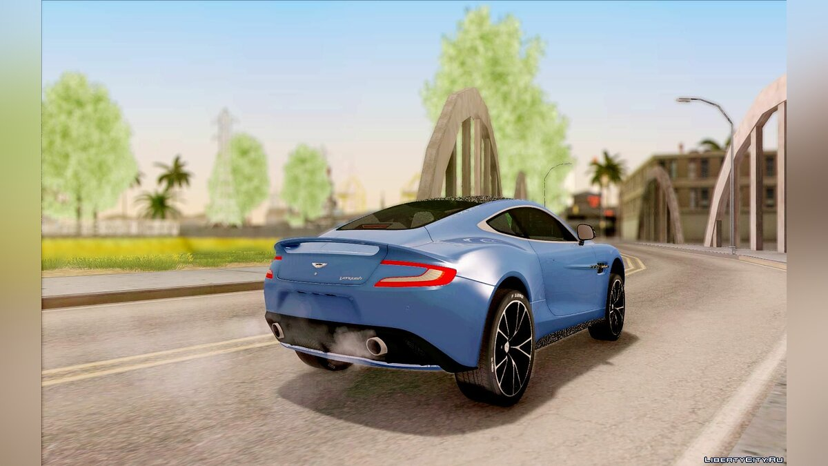 Aston Martin car Aston Martin Vanquish 2013 Road version for GTA San Andreas